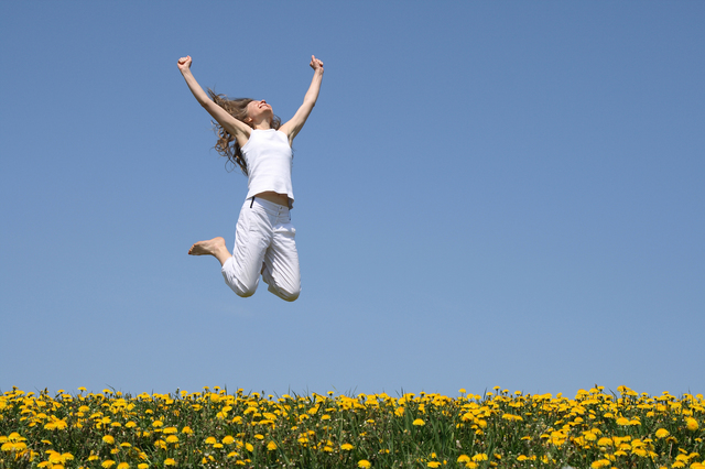 happy-woman jumping